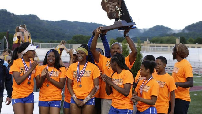 Milwaukee King's girls track and field team hopes to celebrate its third straight Division 1 state title this weekend.
