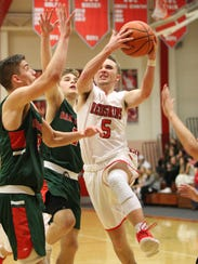 Port Clinton's Max Rumbarger scored 19 points Friday