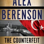 The Counterfeit Agent by Alex Berenson, book cover.