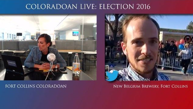 Join us live Tuesday night for the Coloradoan's election 2016 show
