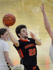 Andrew Gilpin had 11 points off the bench for Brighton