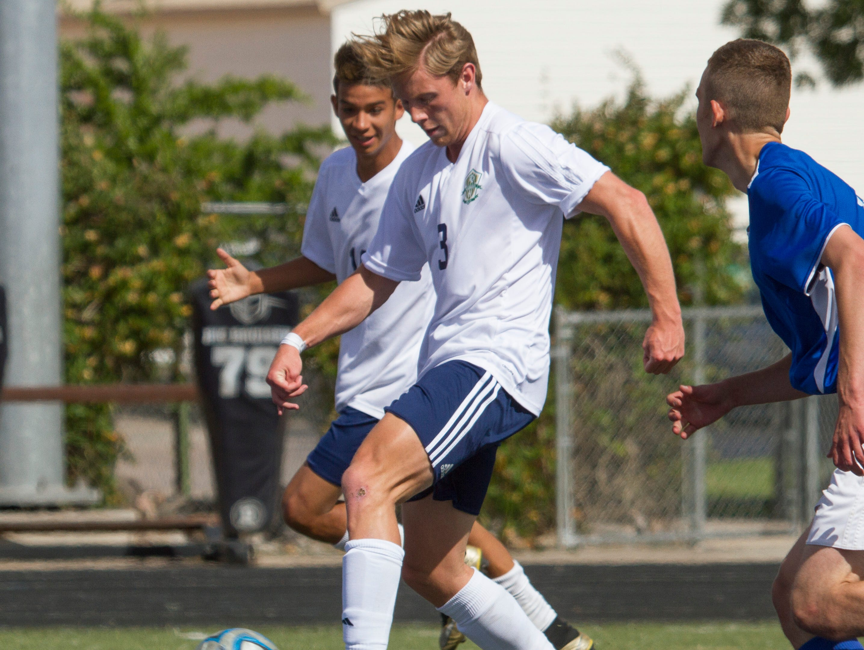 Snow Canyon defeated Richfield 8-0 in the first round of the 3A playoffs on Thursday. The Warriors will host Grantsville Saturday at 1 p.m. for a spot in the 3A semifinals.