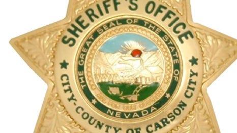 Carson City Sheriff's badge