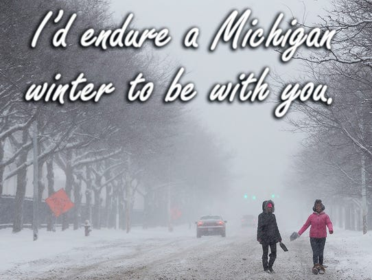 Our Michigan Valentine's Day cards will have you laughing