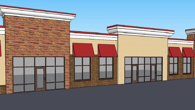 A new retail center is being planned at 41st Street and Ellis Road.