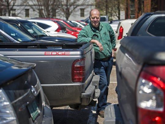 Sustainability activist Dan Jones hopes that land in