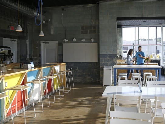 The interior of Happy Motoring, pictured Monday, Feb.