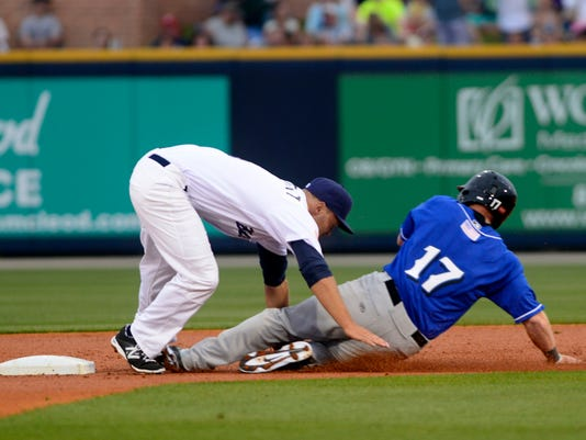 Pensacola Blue Wahoos take on the Biloxi Shuckers on opening day