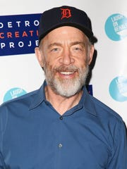 """Actor J.K. Simmons, shown here in November 2014 at the Detroit Party benefit in Los Angeles, won a best supporting actor Oscar on Sunday for his role in """"Whiplash."""""""