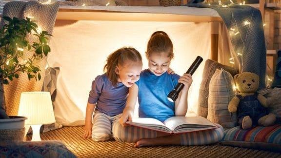 """Books. """"You can send your children to read, you can read to them (or) they can make up stories based on the pictures they see,"""" said Molly Dewitt, the Marketing Communication Specialist for Onslow County Partnership for Children."""