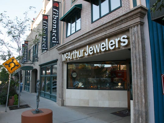 McArthur Jewelers Monday, Oct. 13, 2014.