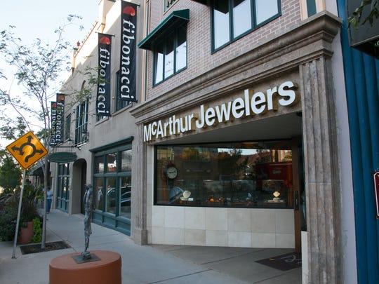 McArthur Jewelers Monday, Oct. 13, 2014.