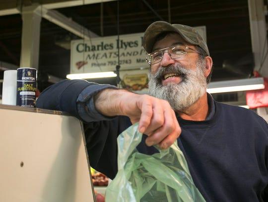 Market and Penn Farmers' Market vendor Bob Godfrey