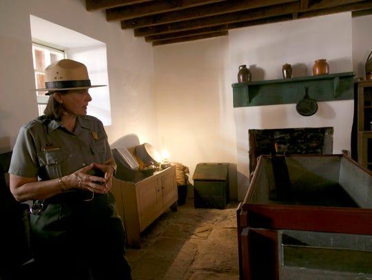 Park Ranger Julie Benson describes how the pioneers