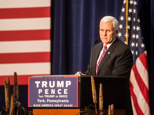 Pence Campaign Stop