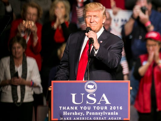 President Elect Donald J. Trump and Mike Pence Thank You Tour Rally