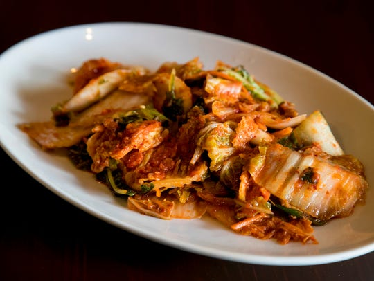 Traditional kimchi is made with Napa cabbage.