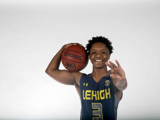 Bershard Edwards, Lehigh Senior High School, basketball