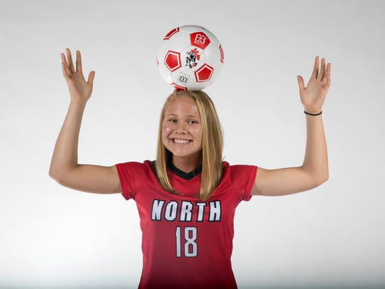Emilee Hauser, North Fort Myers High School, soccer