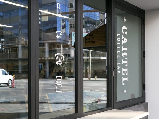 Cartel Coffee Lab in downtown Phoenix is a small space