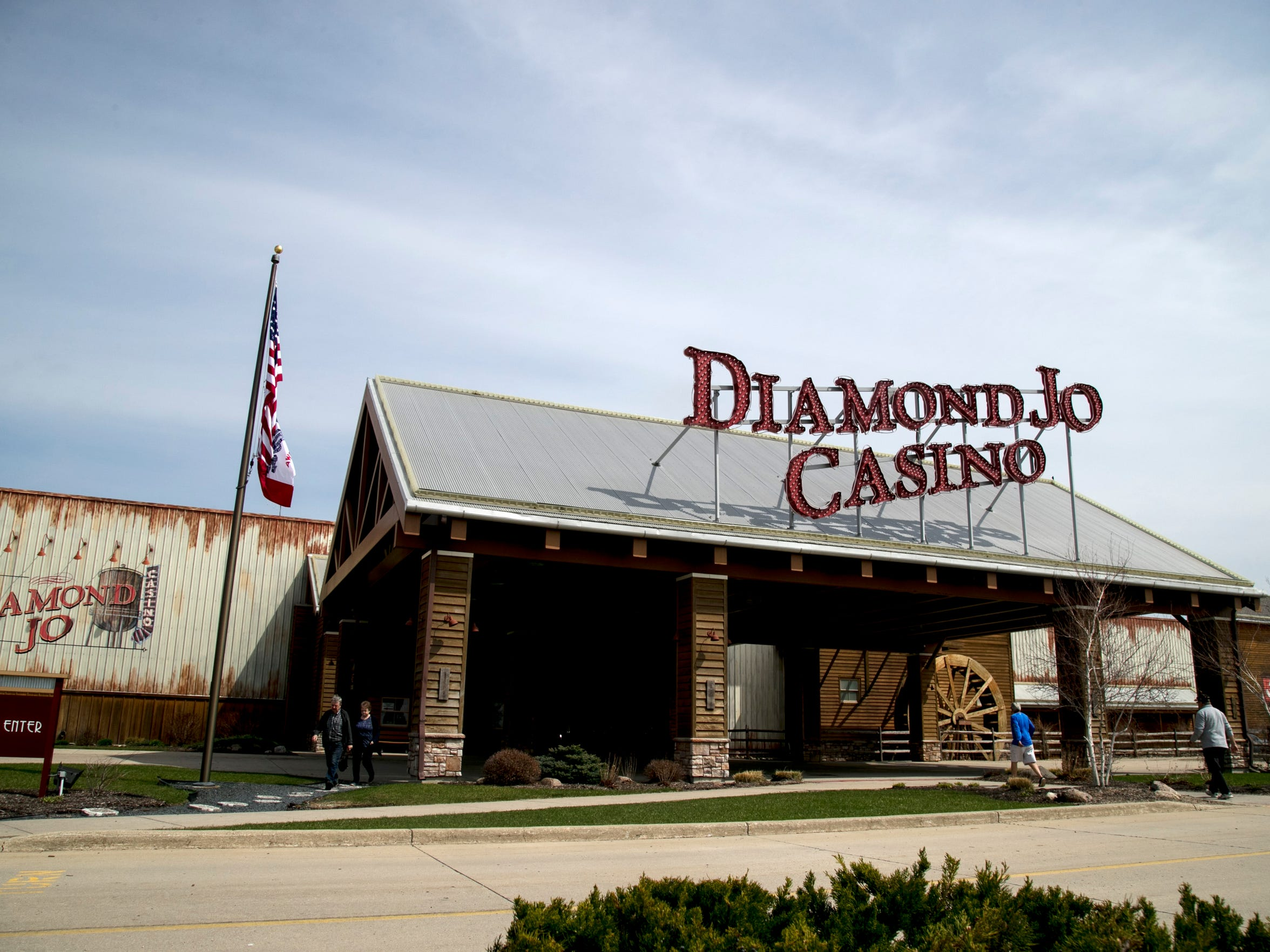 Lois Riess used to gamble at Diamond Jo Casino just over the Iowa border.
