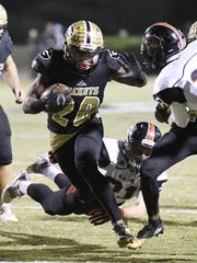 Greer's Qua Qhite rushed for 1,338 yards and scored