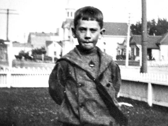 John Steinbeck is pictured as a Boy Scout.