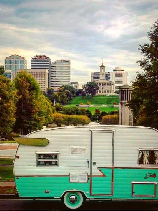 Vintage Camper Business Takes Off In Nashville