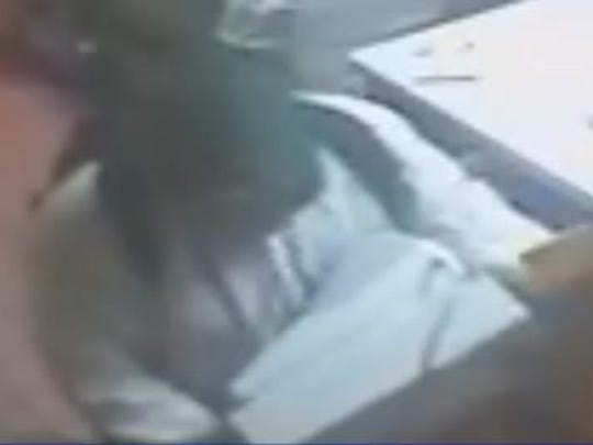 State police are looking for this man, who they said broke into the Harrington Moose Lodge and robbed its cash register.