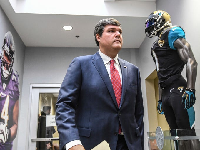 Matt Luke is introduced as the new head coach at the