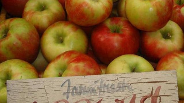 Apples of many varieties are available at Hurds Family Farm in Modena.