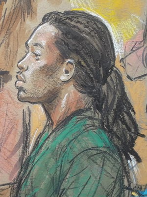 Because the judge is not permitting cameras in Fairfax County (Va.) Circuit Court, courtroom sketch artists will be capturing images of Jesse Matthew, 19, of Charlottesville, Va.