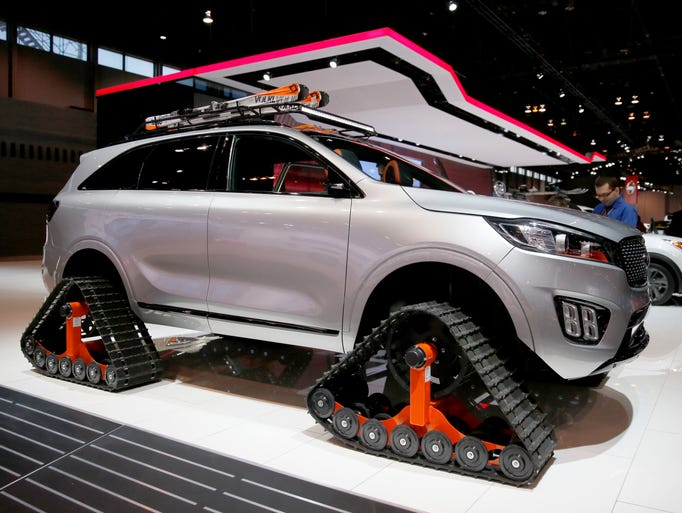 Chicago Auto Show See All The Latest Looks