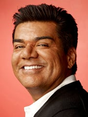 "George Lopez's new movie, ""Spare Parts"" is about the robotics team at Carl Hayden High School."