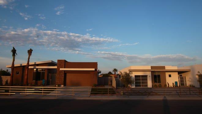 Verlaine, a 17-lot development in Rancho Mirage, features semi-custom homes starting around $1.2 million.