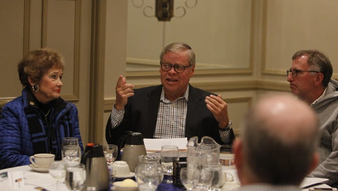 State Sen. Ron Alting told a group of local leaders Saturday, Jan. 16, 2016, the best way to gain traction on pending LGBT civil rights legislation is to table gender identity protections — for now.