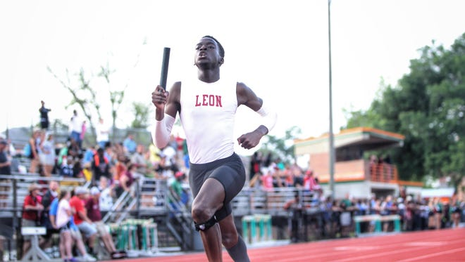Leoon sprinter Leander Forbes is a favorite to win a state title in the 400-meter dash at this weekend's Class 3A state meet.