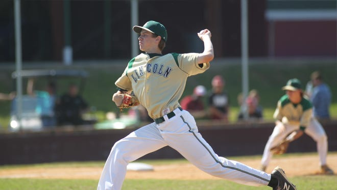 Lincoln pitcher Austin Pollock was 9-2 with a 1.21 ERA and 48 strikeouts in 52 innings pitched as a junior last season. He signed Thursday to play for FSU in college.