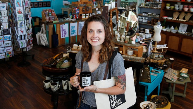 Steph Davies, the owner of MilwaukeeHome, also owns The Waxwing art and gift shop, where she will continue to sell MilwaukeeHome items.
