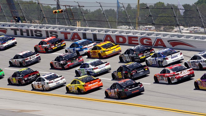 Talladega usually produces the wildest and most unpredictable racing in NASCAR.