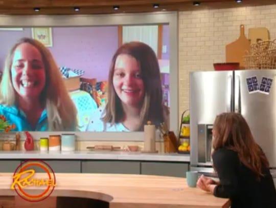 "Tania and Lia Haile appear on the ""Rachael Ray Show"""