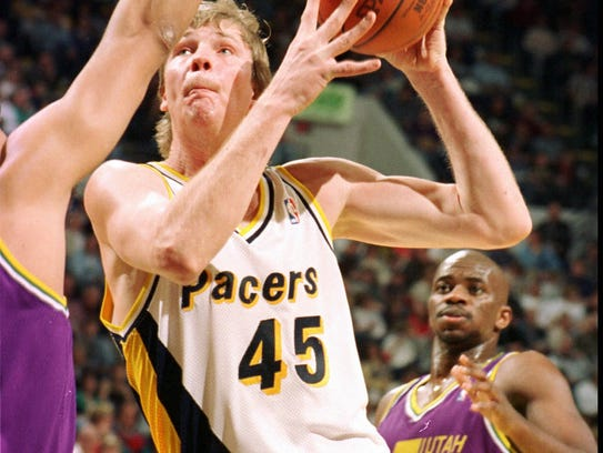 Rik Smits was a key presence in the paint for the 90s