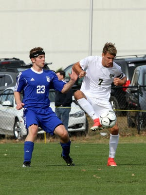 Scenes from Saturday's Section 4 Class A boys soccer championship game between Vestal and Maine-Endwell in Oneonta.