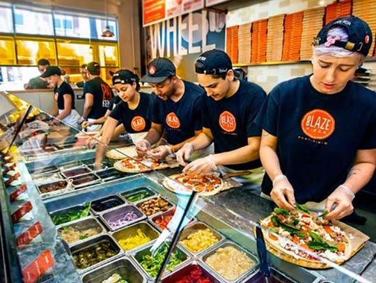 Blaze Fast-Fire'd Pizza, the LeBron James-backed fast-casual