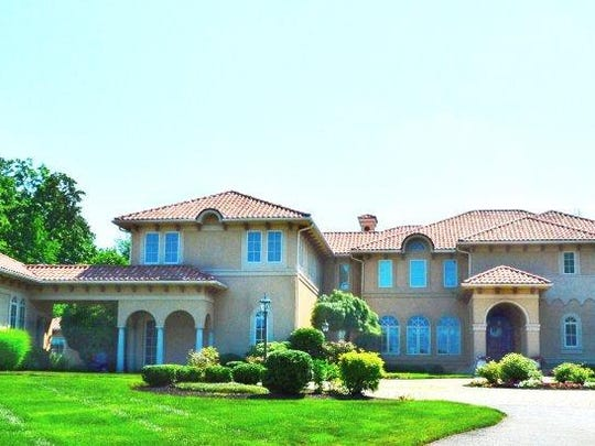 This custom Tuscan villa in East Brunswick won the Custom Home of the Year award in 2004 from the New Jersey Builder's Association.
