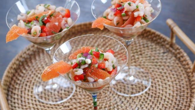 Bay Shrimp and Citrus Salad