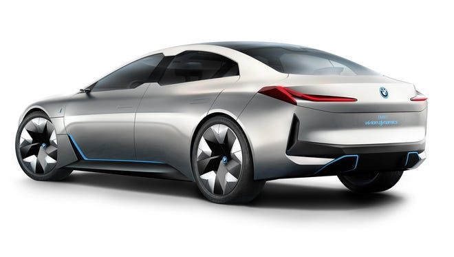 The electric BMW i Vision Dynamics will have its North American debut this week at the Los Angeles Auto Show.