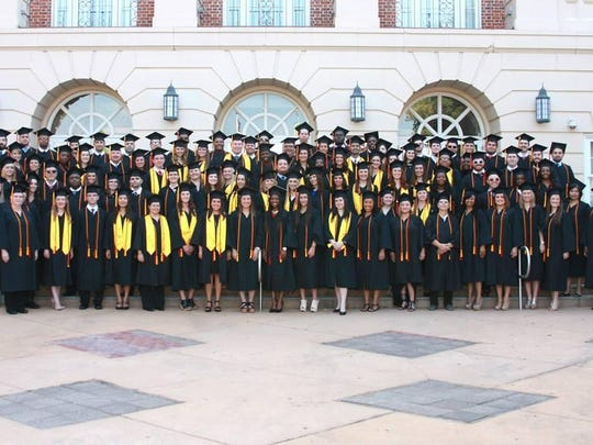 Flagler College-Tallahassee graduated its 2,000th student this past graduation.