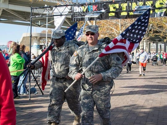 The DAV 5K takes place Saturday morning at The Banks Downtown.