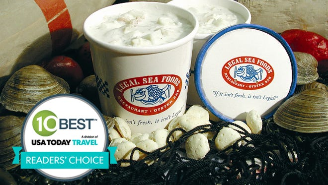 Your votes helped name America's best seafood restaurants in 10Best.com's Readers' Choice contest.